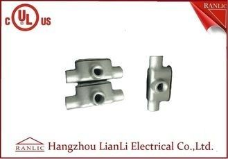 "China 3"" 4"" 1/2"" Malleable Conduit Bodies , Hot Dip Galvanized T Conduit Body supplier"
