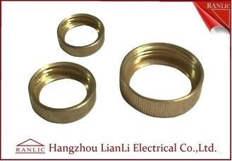 China Female Bush Brass Electrical Wiring Accessories For Gi Conduit & GI Socket Thread supplier