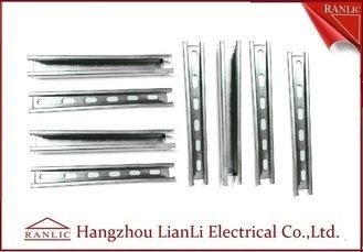 China Electro Strut Channel Fittings Steel U Channel Slotted or None Slotted factory