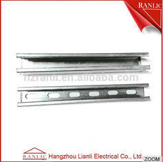 Galvanized Steel Electrical Drawer C Strut Channel Fittings BS Standard