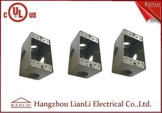 China Rectangular IMC Conduit Fittings Waterproof Terminal Box with PVC Coated factory