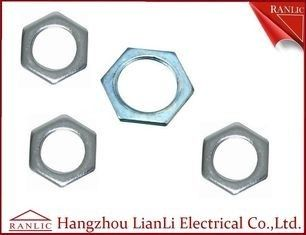 20mm to 50mm Hot Dip Gal GI Hexagon Locknut 3.0mm to 6.0mm Thickness