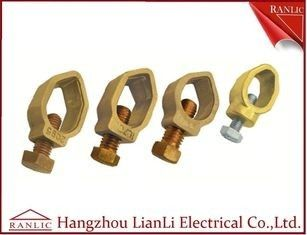 China Bronze Earthing Rod to Cable G Clamp 9mm 12mm 14mm 15mm of Thread Rod factory