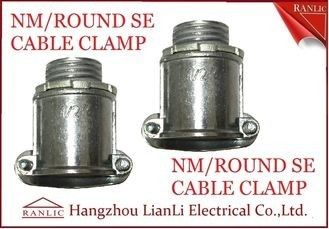 "Aluminum 1/2"" 3/4"" NM Round SE Cable Clamp For Bond the Wire to Outlet Box"